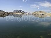 Spiegelung im Schwarzsee